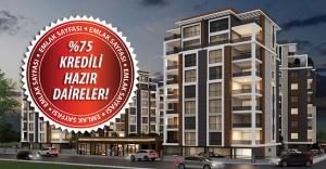 Bursa'da yüzde %75'i banka kredili 3+1 ve 4+1 daireler!