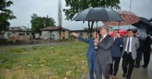 Bursa Sıcaksu'da kentsel dönüşüm çalışmaları devam ediyor!