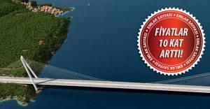 Çanakkale Köprüsü Lapseki'de arazi fiyatlarını uçurdu!