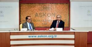 Ergün Turan Askon'da inşaat sektörünü anlattı!
