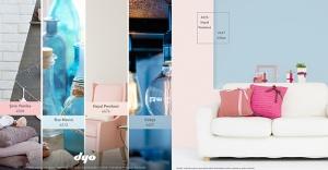 Evinizde renk trendlerini DYO ile yakalayın!