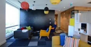 Google'ın alışkanlıkları değiştiren ofisi!