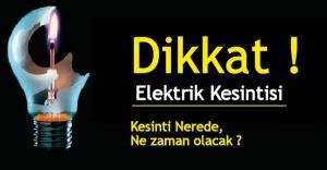 İstanbul'da Cuma günü elektrik kesintisi olacak