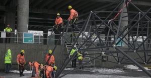 İstanbul Yeni Havalimanı'nda çatı montajına başlandı!