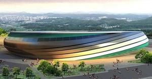 Kocaeli Stadyumuna pişmaniye tasarımı!