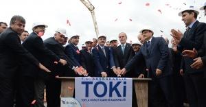 Toki Bursa Büyük Sanayi Sitesi'nin temeli atıldı
