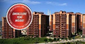 TOKİ'den emeklilere yeni kampanya!