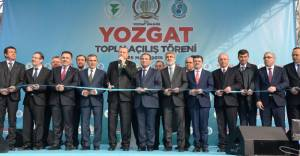 TOKİ Yozgat'ta 124 milyon liralık yatırımlarının açılışını yaptı!