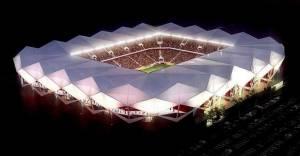 Trabzonspor Stadyumu inşası devam ediyor
