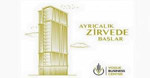 Vogue Business Center Ataşehir'de yükseliyor!