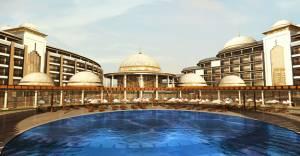 Yalova Thermal Palace Resort'un ilk etabı teslim edildi!