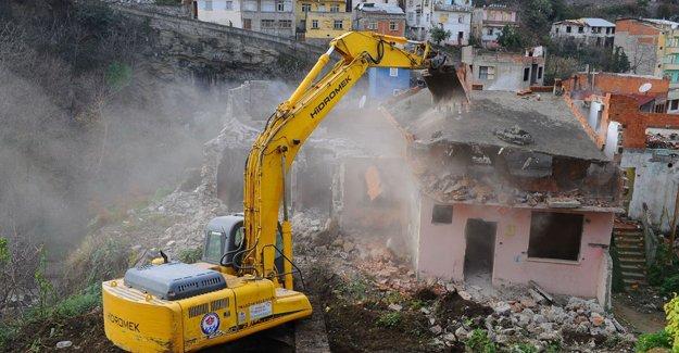 Türkiye'de 35 bin riskli bina var!