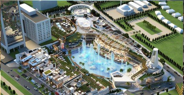 Türkiye'nin en büyük gastronomi ve eğlence merkezi WaterGarden!