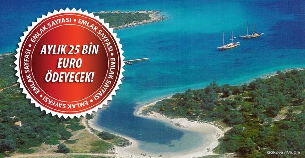 Ünlü iş adamı Bodrum'daki Kleopatra Adası'nı 96 yıllığına kiralayacak!