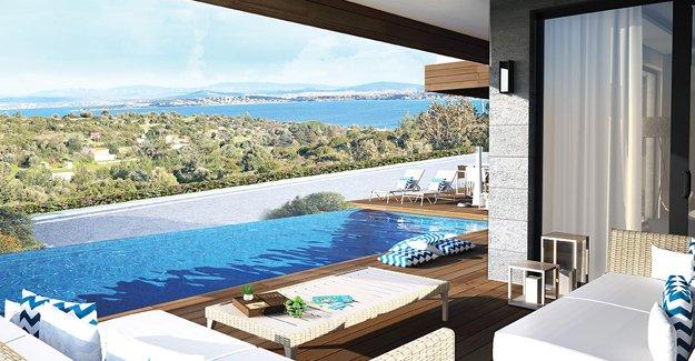 Villa Sera Çeşme UMİ İnşaat imzası ile yükseliyor!