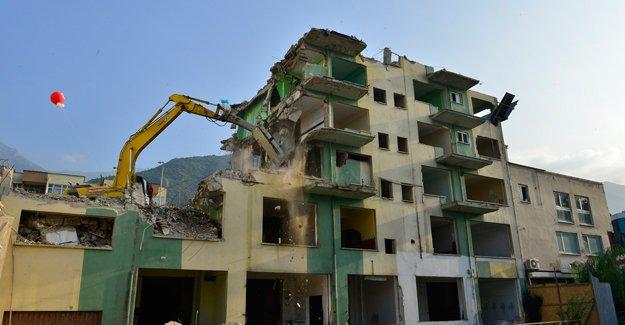 Yıldırım kentsel dönüşümde yıkımlara devam!
