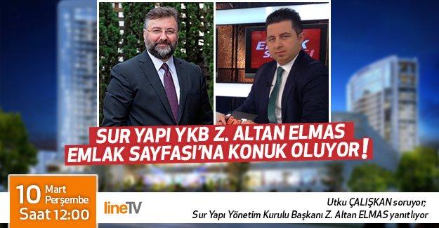 Z. Altan Elmas, Emlak Sayfası'nda!