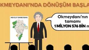 Okmeydanı kentsel dönüşüm projesi İnfografik film ile anlatıldı!